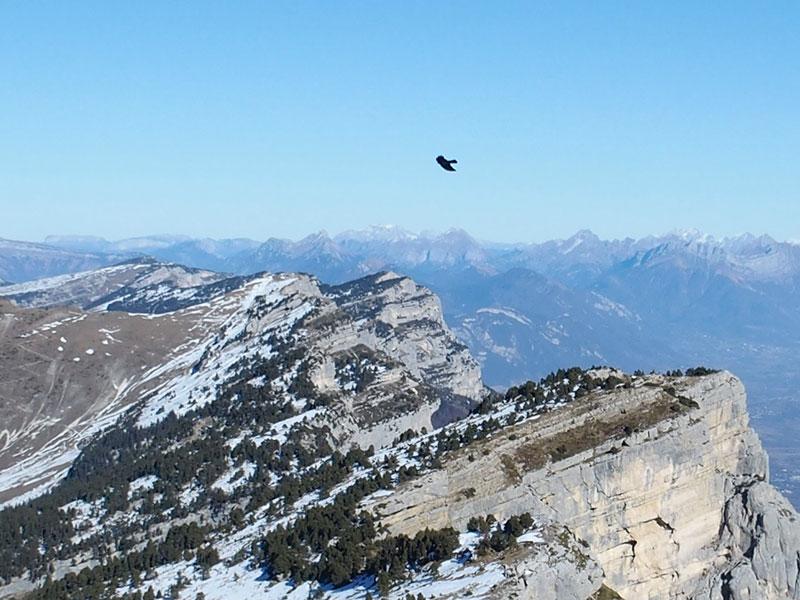 Yohan Cheilan, accompagnateur en moyenne montagne