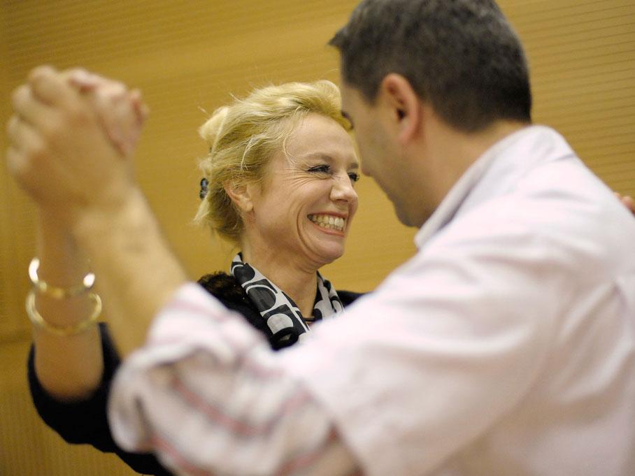 Dance With Me , santé et intégration par la danse de salon